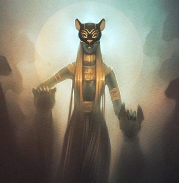 kucing mesir kuno