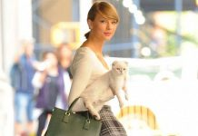 duo seleb dunia dengan kucing